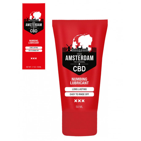 CBD from Amsterdam - Numbing Lubricant - 50 ml